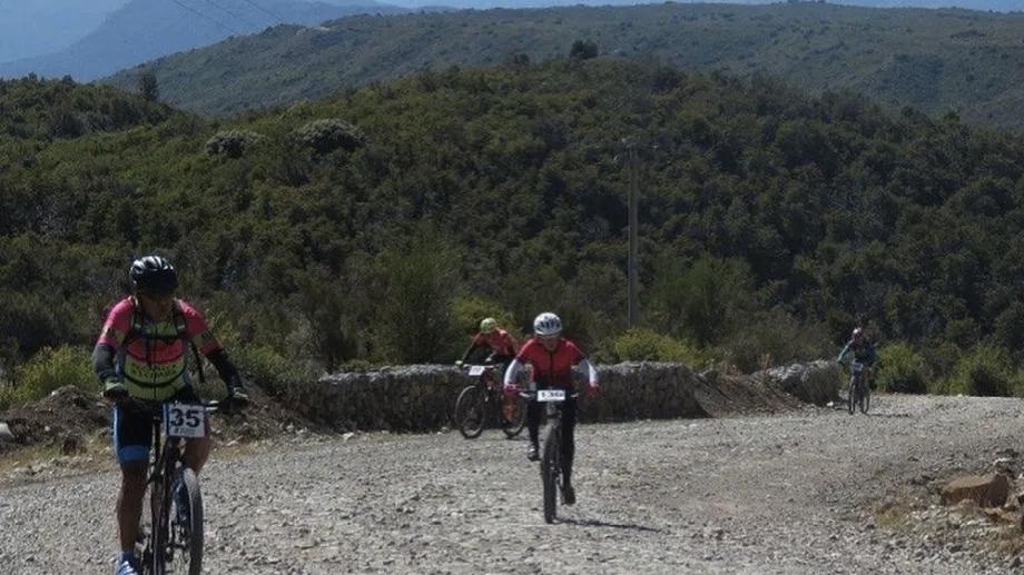 Trepada en bicicleta al cerro Perito Moreno